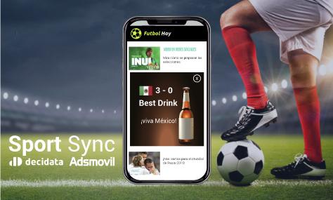 Decidata y Adsmovil lanzan solución para campañas de publicidad móvil sincronizadas con eventos en vivo durante el mundial de fútbol 2018